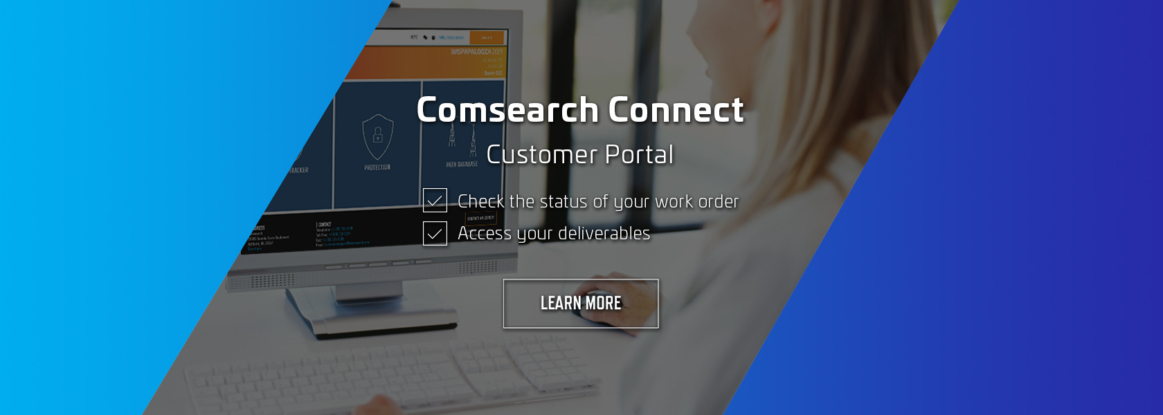 Comsearch Connect Customer Portal
