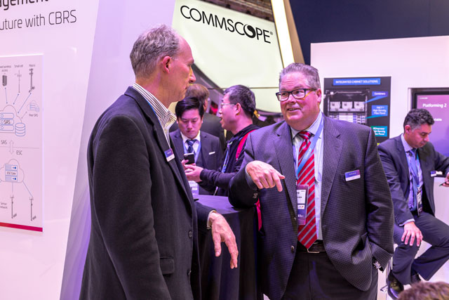 CommScope's Mark Gibson at MWC-2019